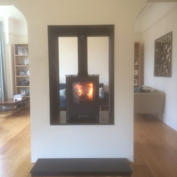 Mendip Loxton Double sided 5Kw stove