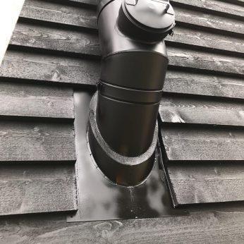 Twin wall sweep hatch