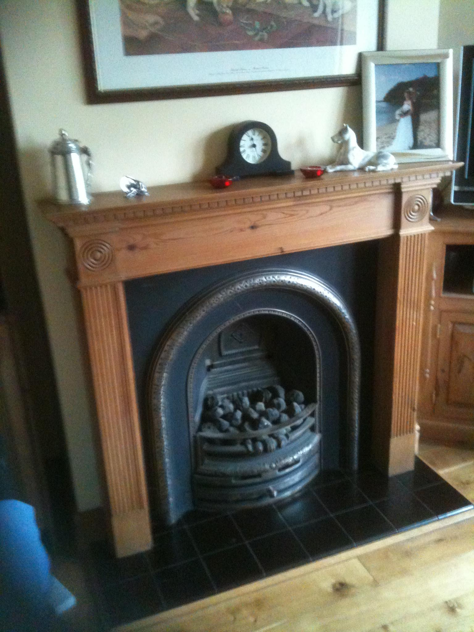 Surrey wood burning stove showroom