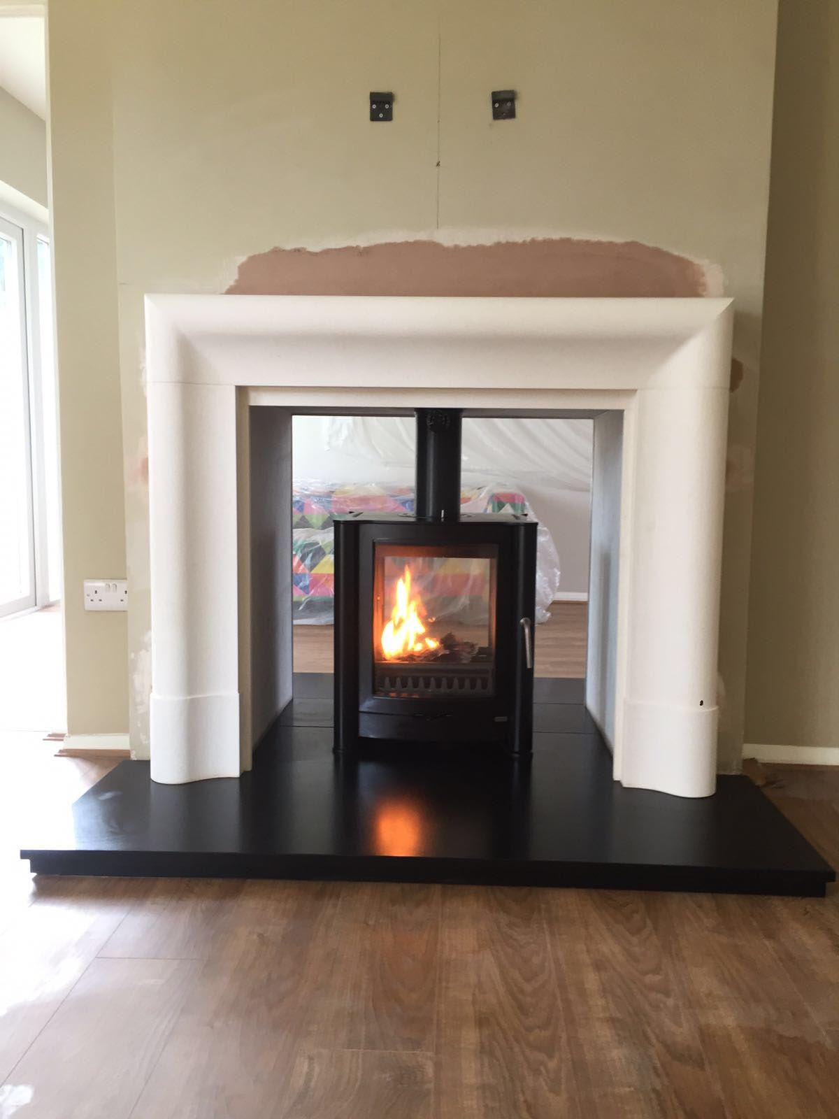 Wood burning stove showroom