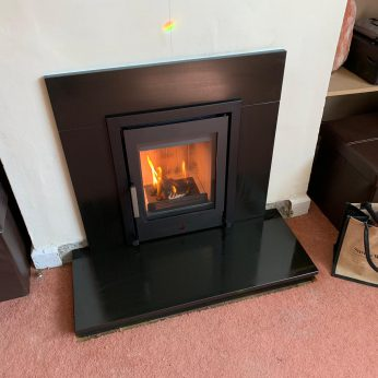 ACR Tenbury 400 Inset stove with slips