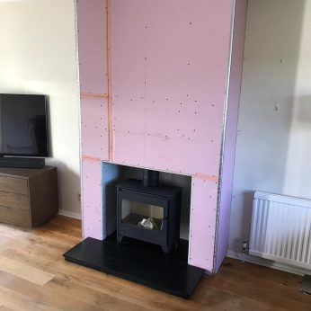 Falso Chimney Breast for ~Esse 150 Kw stove